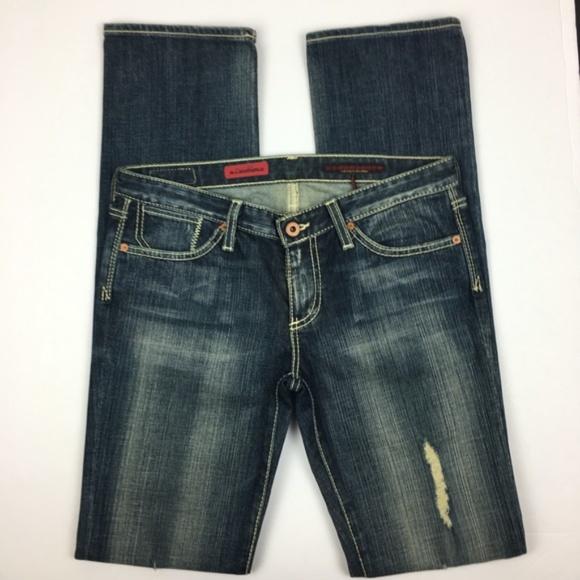 """Ag Adriano Goldschmied Denim - AG (waist 31"""") Adriano Goldschmied Straight Jeans"""